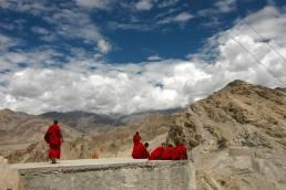 Buddhist Monks in Ladakh